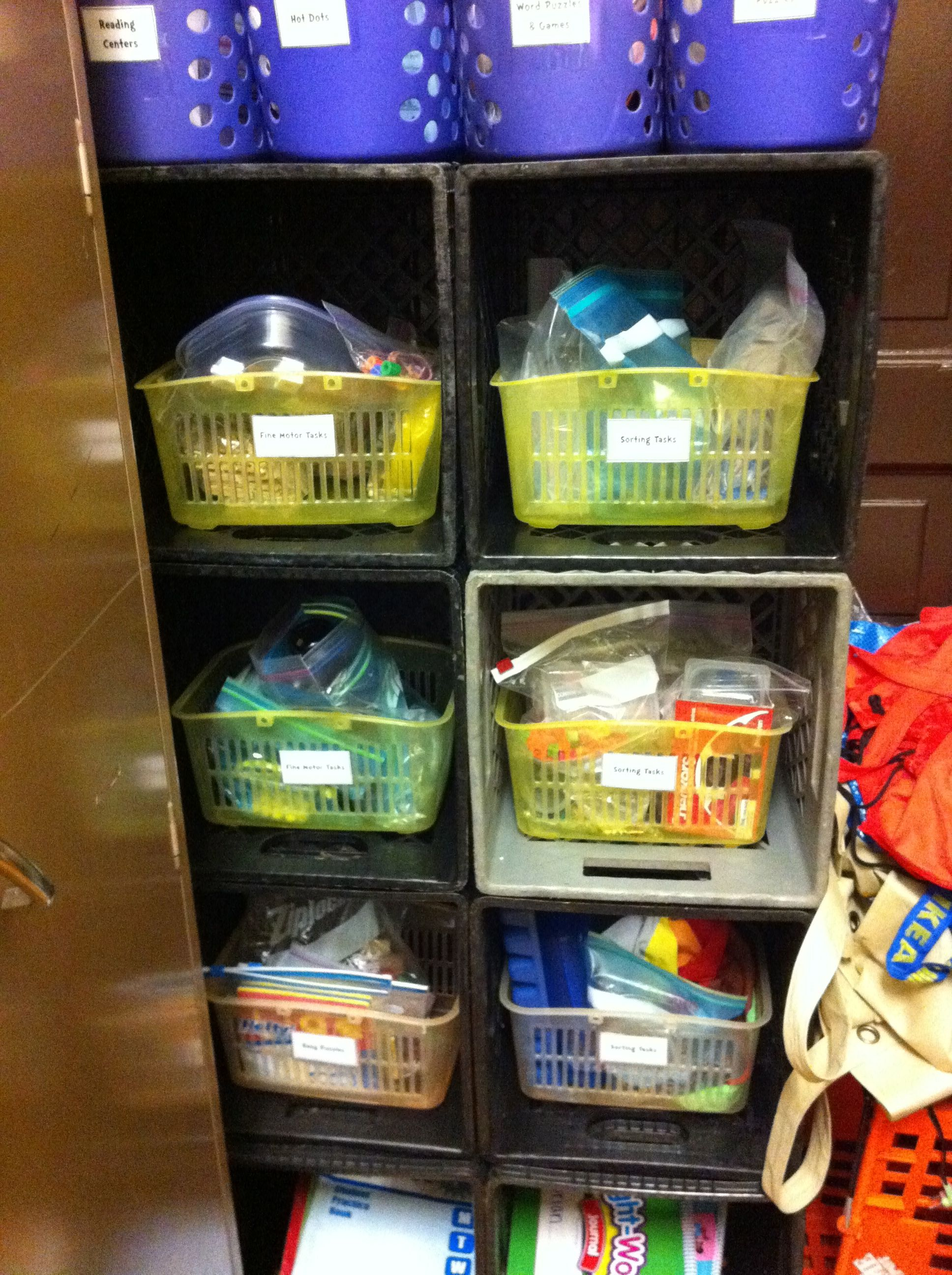 Mission Closet Reorganization
