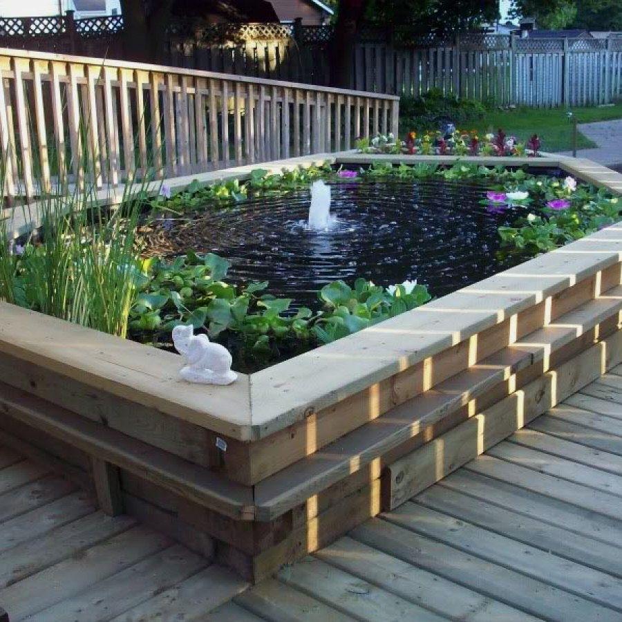 Creative DIY Garden Pond Designs You Can Create Yourself ...