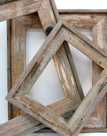 barnwood frames add narrow baseboard to the frames i make for added - Barnwood Frames