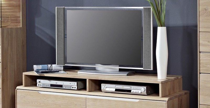 OSLO TV-Board Aufsatz #162 Wildeiche massiv hell geölt Jetzt - wohnzimmer wildeiche massiv