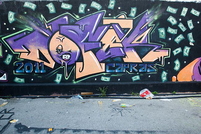 Graffiti Varedo (IT) October 2012  art kunst streetart Italië Italy Photo by: Jascha Hoste