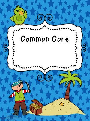 Free download...Editable Common Core Teacher Binder Covers (pirate and insect themes available!)
