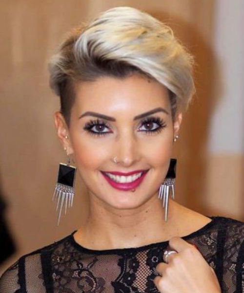 31 Of The Trendiest Short Blonde Hairstyles For Evening Parties Short Blonde Hair Hair Styles Short Hair Trends
