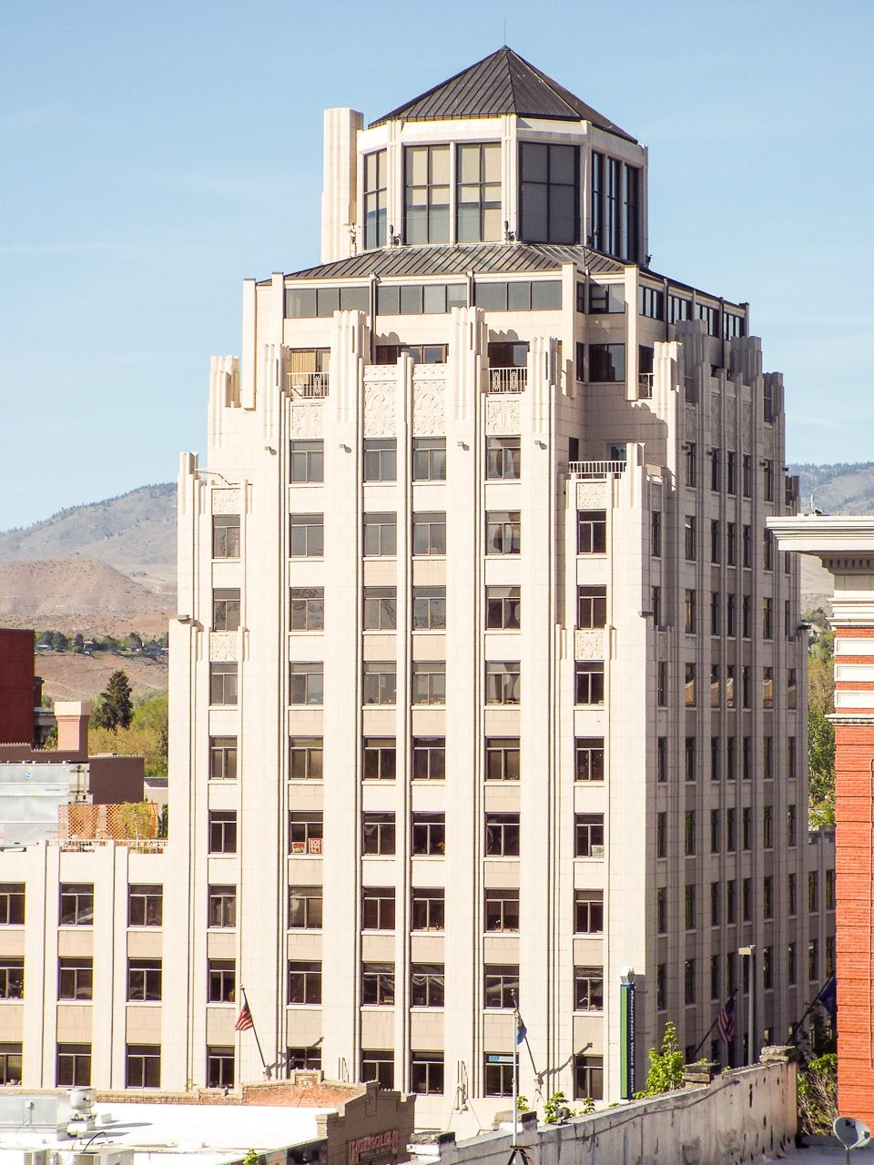 Hoff Building In Downtown Boise Idaho Imagine The Gorgeous Views Of The Foothills And The Rest Of Downtown From Downtown Boise Gorgeous View Wonderful Places