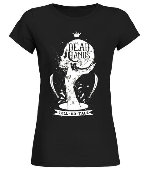 Tattoo Tshirt Men Women Shirt Tee Ink Inked Skull Dead Hand