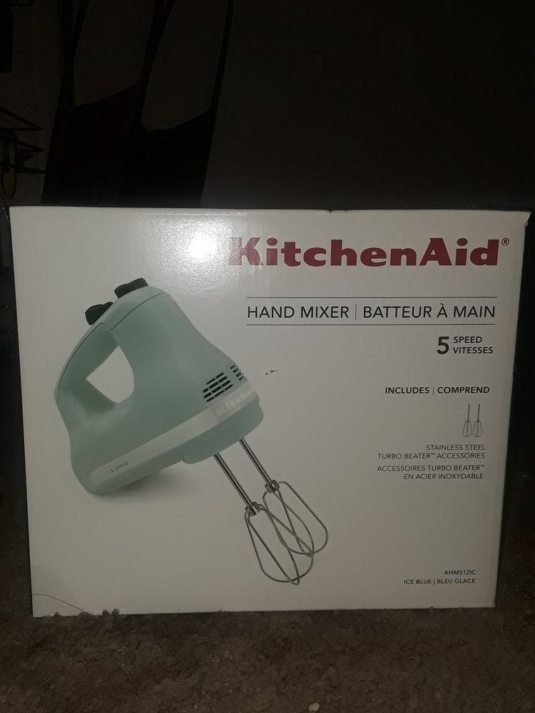 Details about kitchenaid khm512tb 5speed ultra power hand