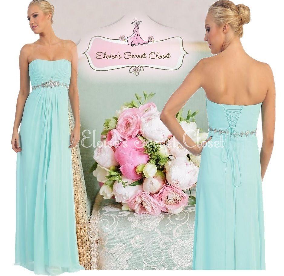 Marisa chiffon jewel aqua mint bridesmaid prom wedding dress www marisa chiffon jewel aqua mint bridesmaid prom wedding dress eloises secret closet ombrellifo Images