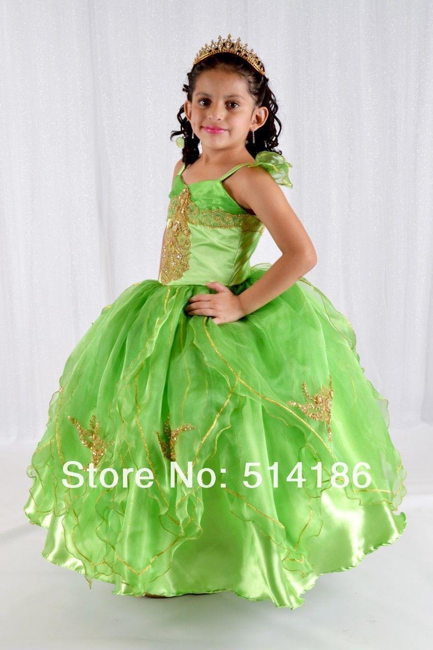 91b90723b vestidos para niñas de 5 años tinkerbell niños vestidos de princesa ...