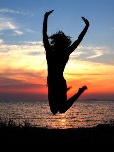 What makes you jump for joy?