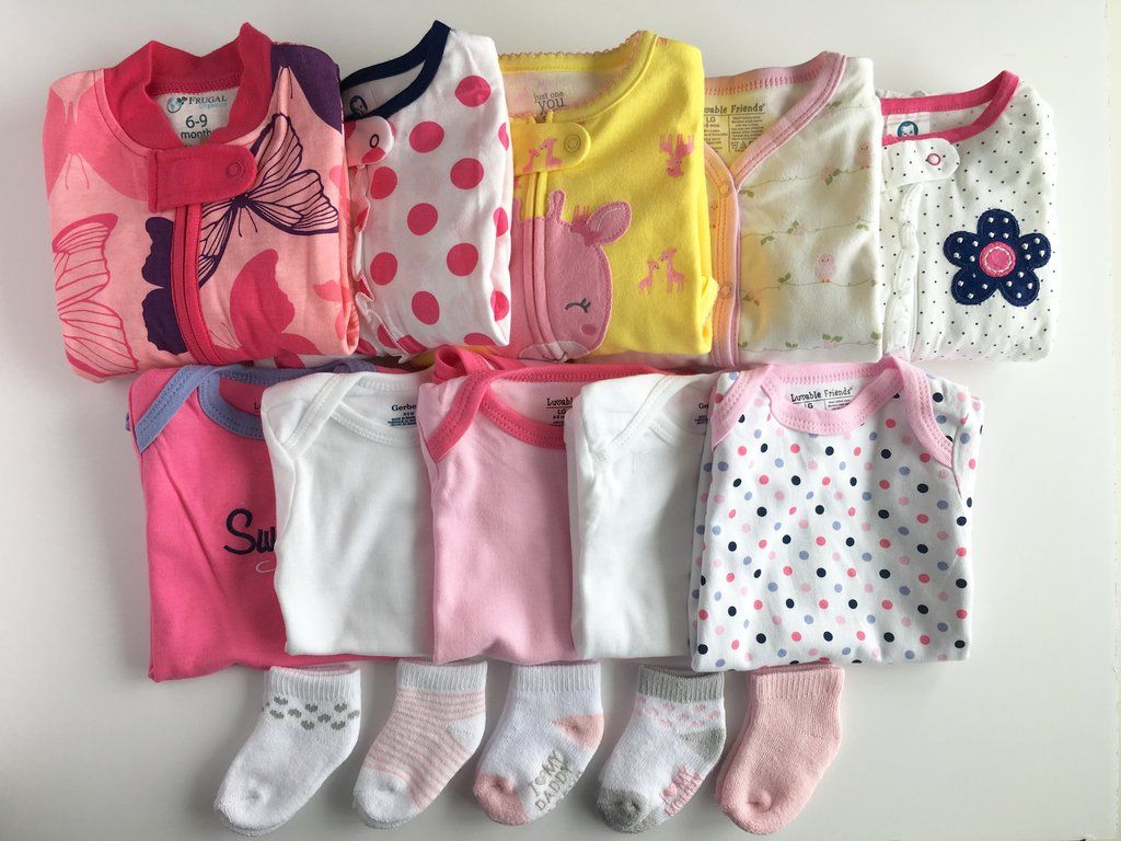 70d41f52dcbf Baby Girl Clothing Bundle - size 6-9 months Subscription