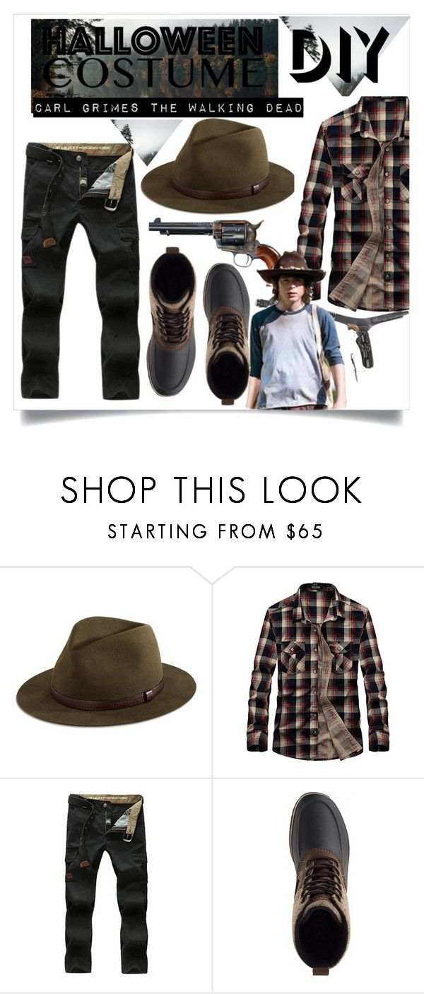 Carl Grimes | Halloween Costume  by spaceemo ? liked on Polyvore featuring Sperry  sc 1 st  Pinterest & Carl Grimes | Pinterest | Carl grimes Halloween costumes and ...