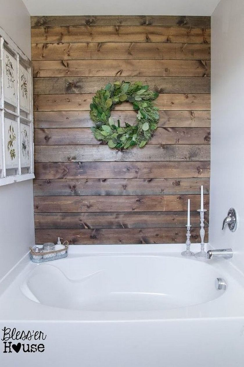 Rustic Small Bathroom With Wood Decor Design That Will Inspire You Adorable Rustic Small Bathroom Ideas 2018