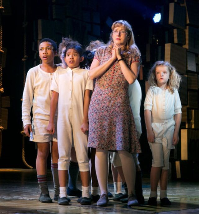 Milly Shapiro In Matilda The Musical On Broadway