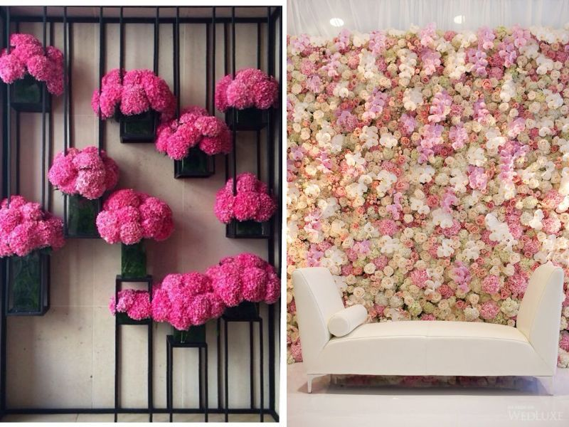 31 Best Wedding Wall Decoration Ideas Cute Wall Decor Wedding Wall Decorations Paper Flower Decor