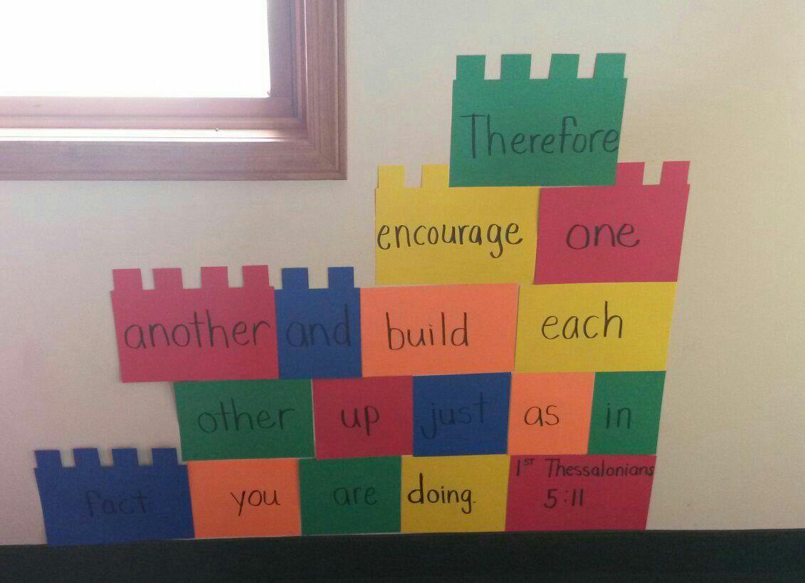 Lego Classroom Decor : Thessalonians lego curriculum decorations