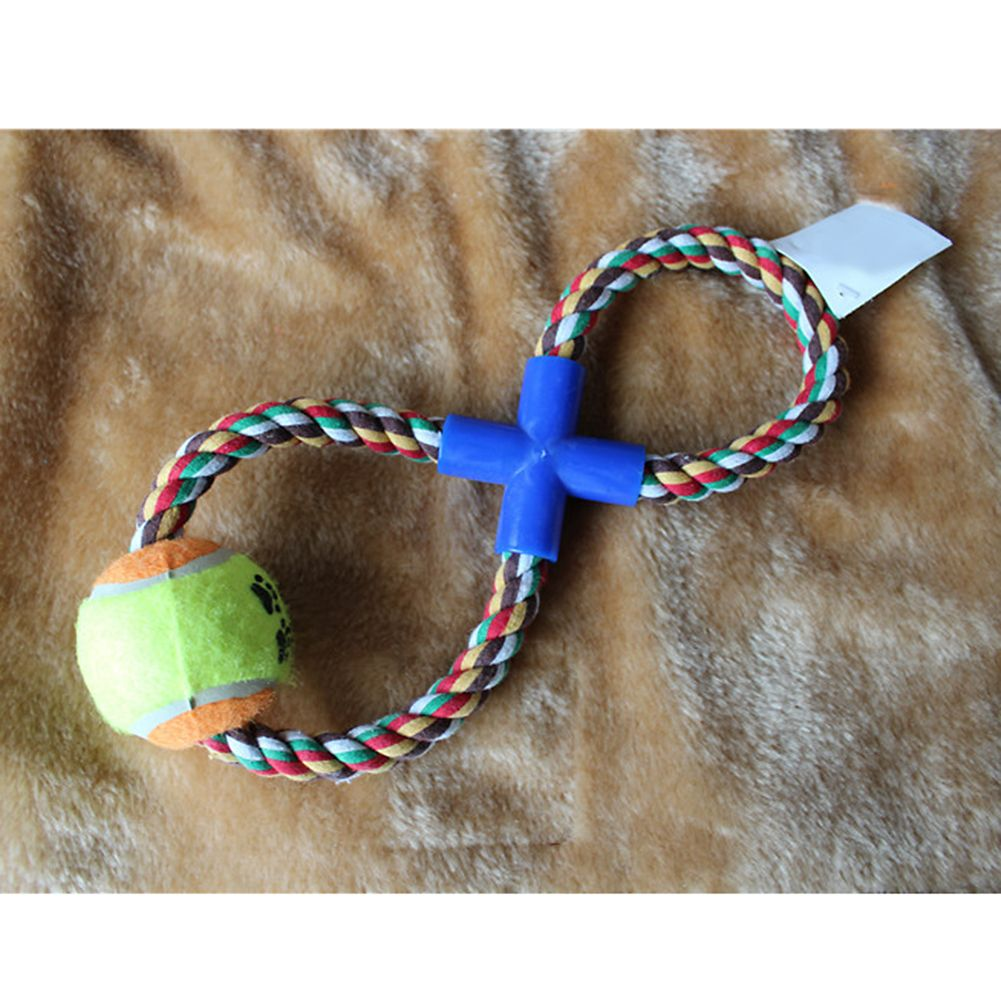 New toys images  cm New Toys for Dogs Pets  Shaped Rope Tug Ball Knotted Durable