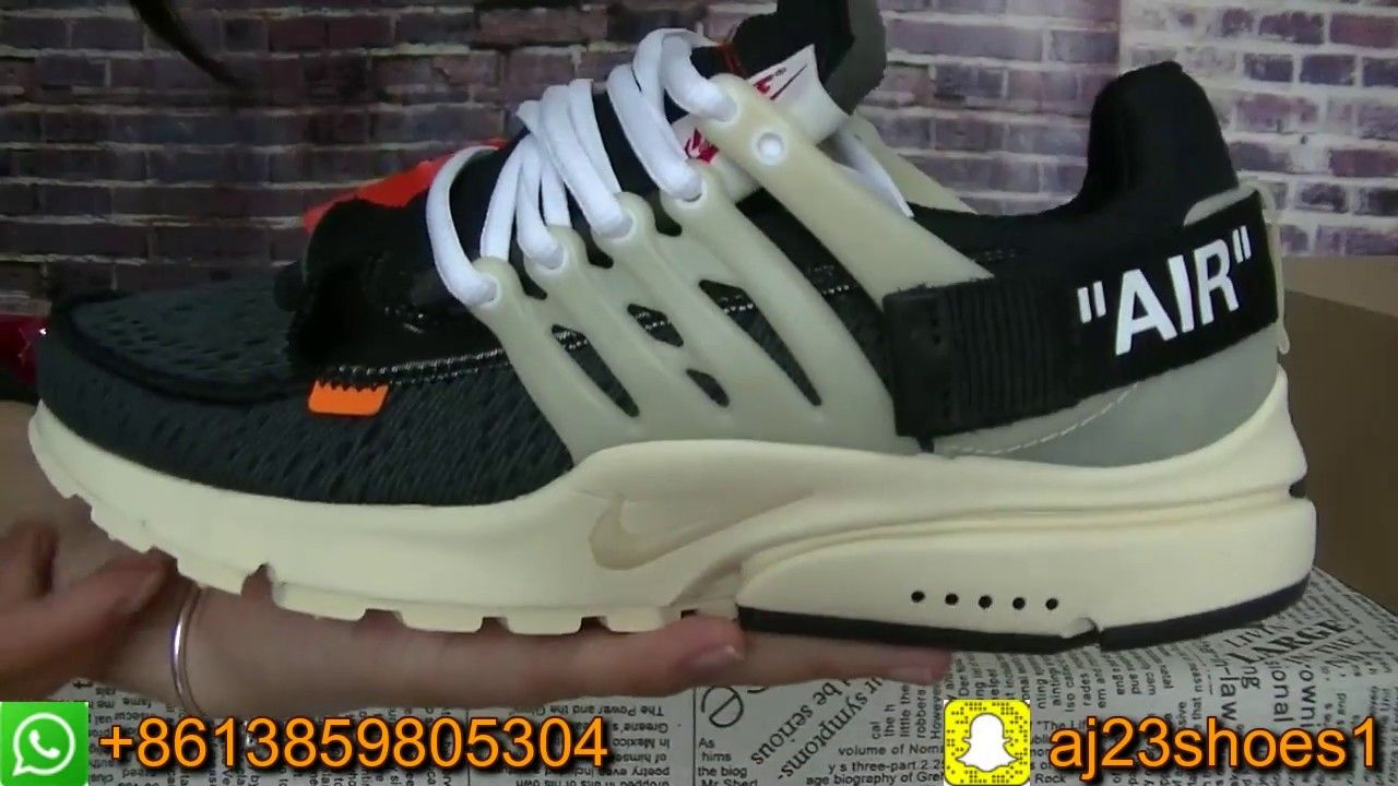 436ff23cb1e970 Review   On-Feet  Off-White x Nike Air Presto
