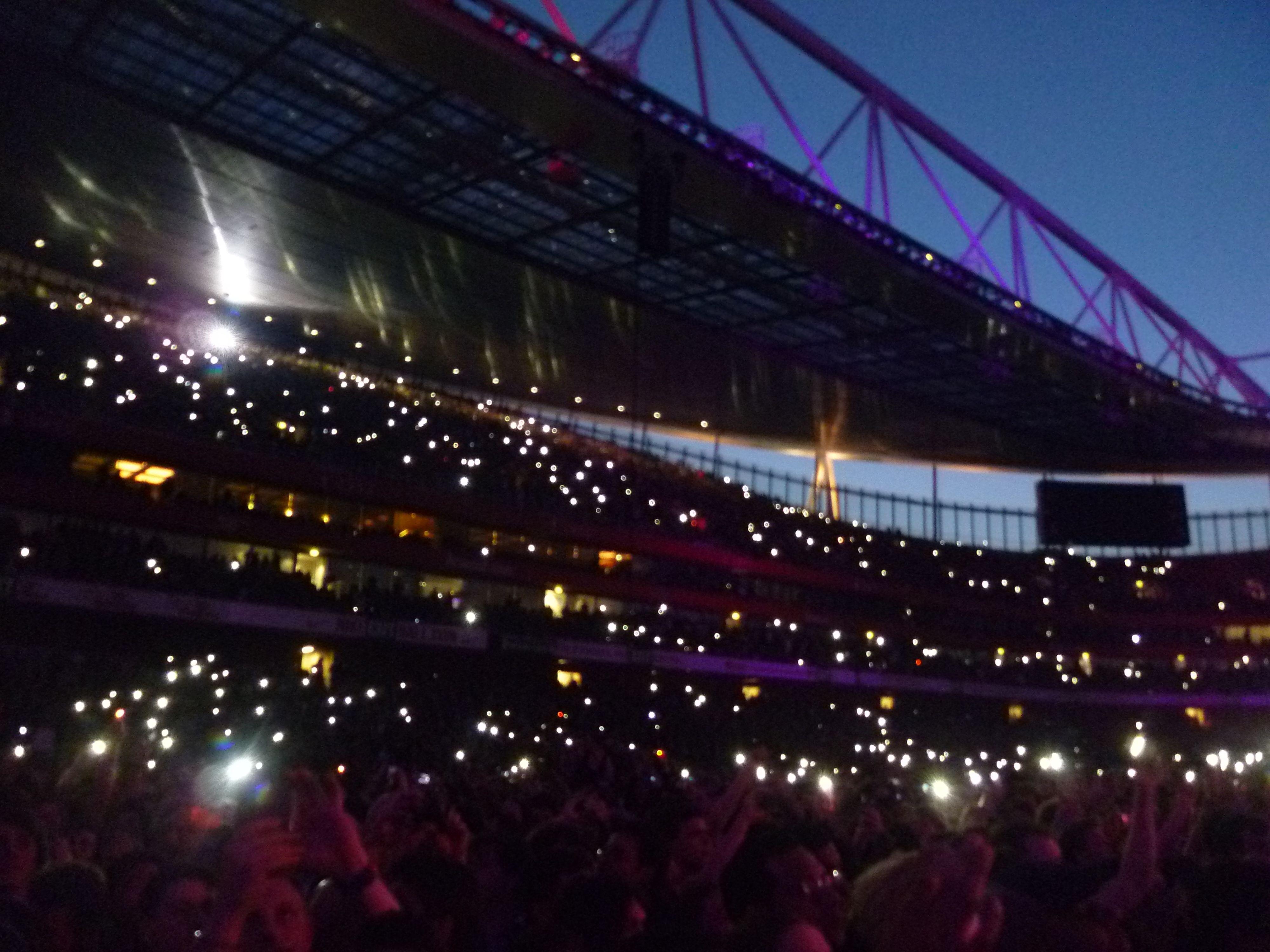 Muse Arsenal stadium. Enorme!!!