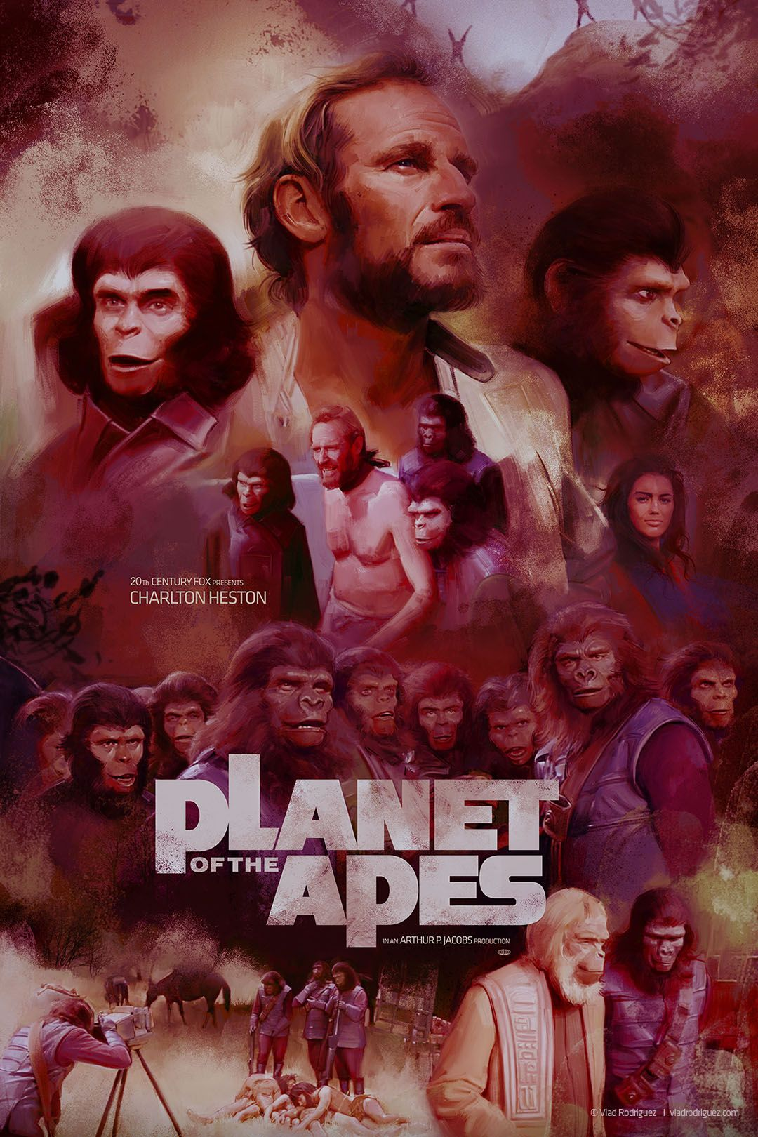 Planet Of The Apes 1968 Hd Wallpaper From Gallsource Com With