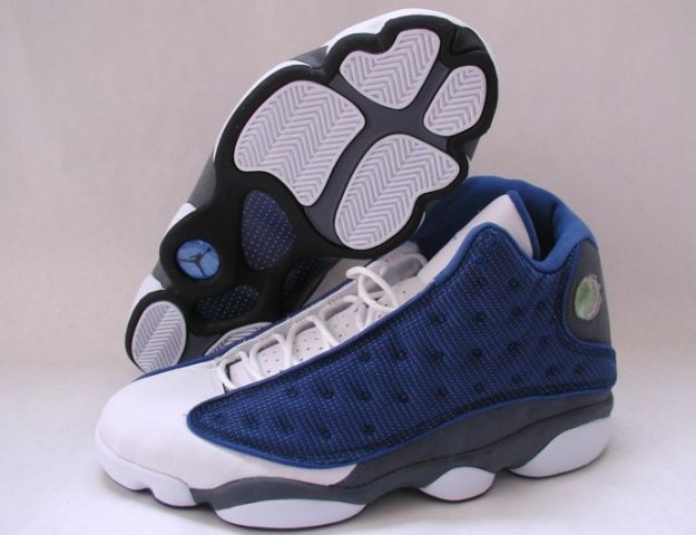 4175bf1559e ... where can i buy air jordan 13 xiii retro flints french blue university  blue flint grey