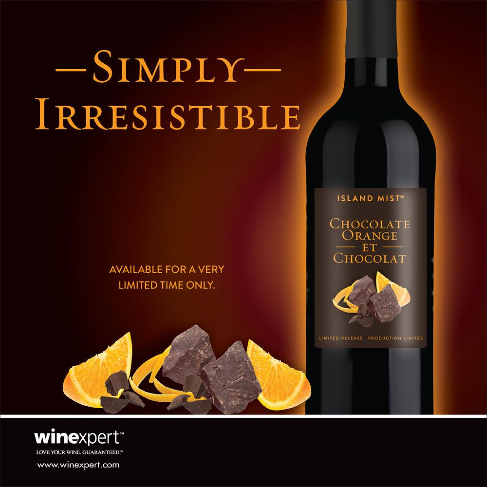 Island Mist Chocolate Orange Wine Ingredient Kit Chocolate Orange Orange Wine Wine Ingredients