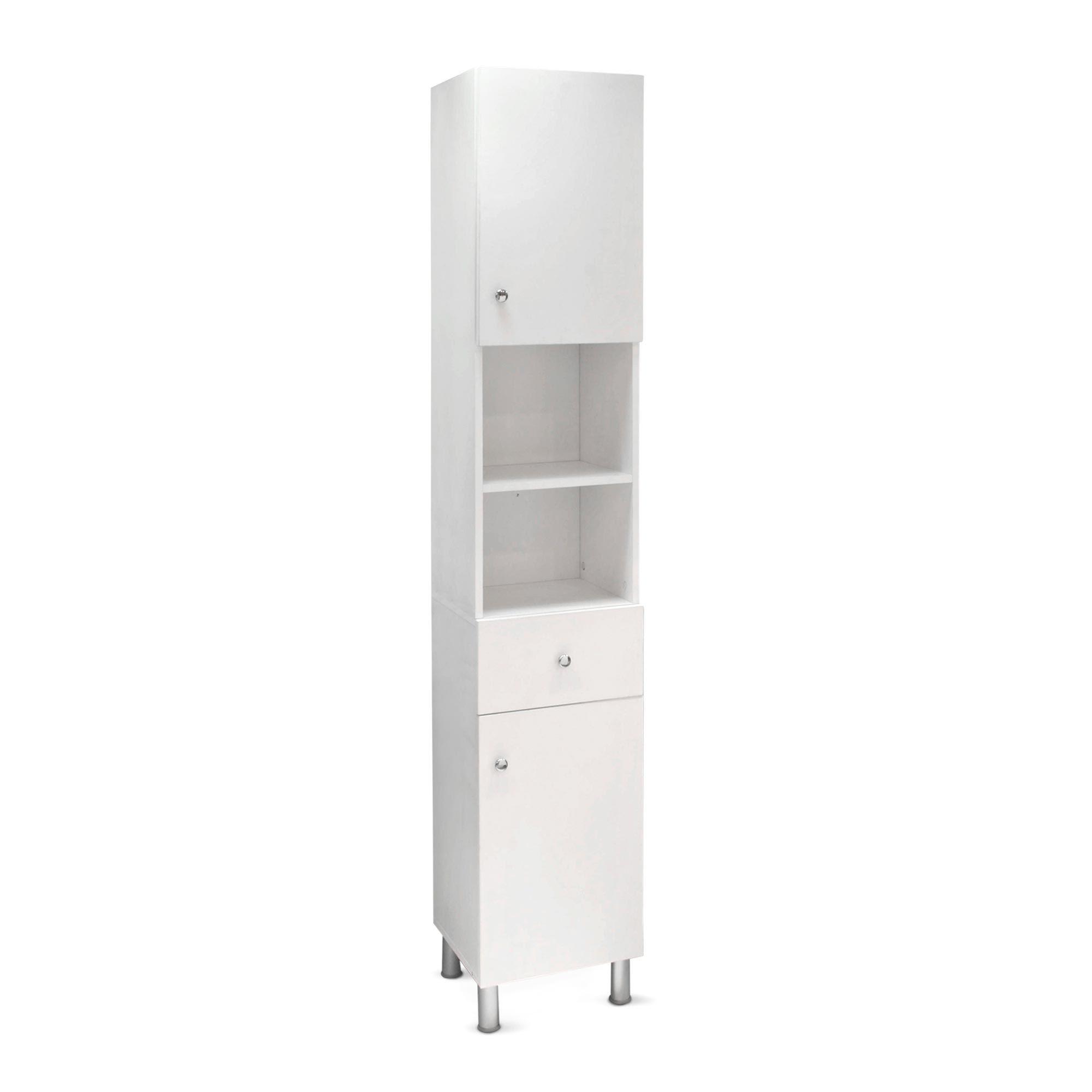 Mueble Auxiliar Blanco Promart Tall Cabinet Storage Locker