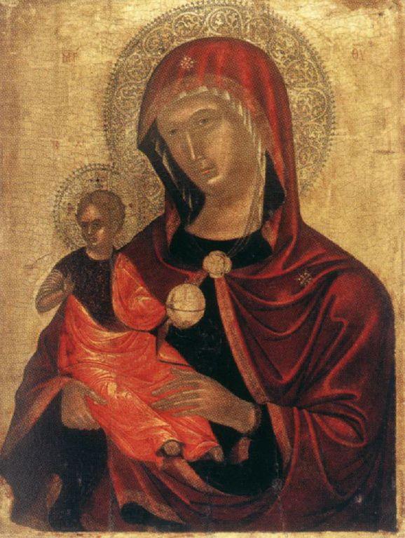 .;. Τζαφούρης Νικόλαος – Nikolaos (Nicolo) Tzafouris (Zafouris, Zafuri) [d.1501] Madre della Consolazione, 1490 1