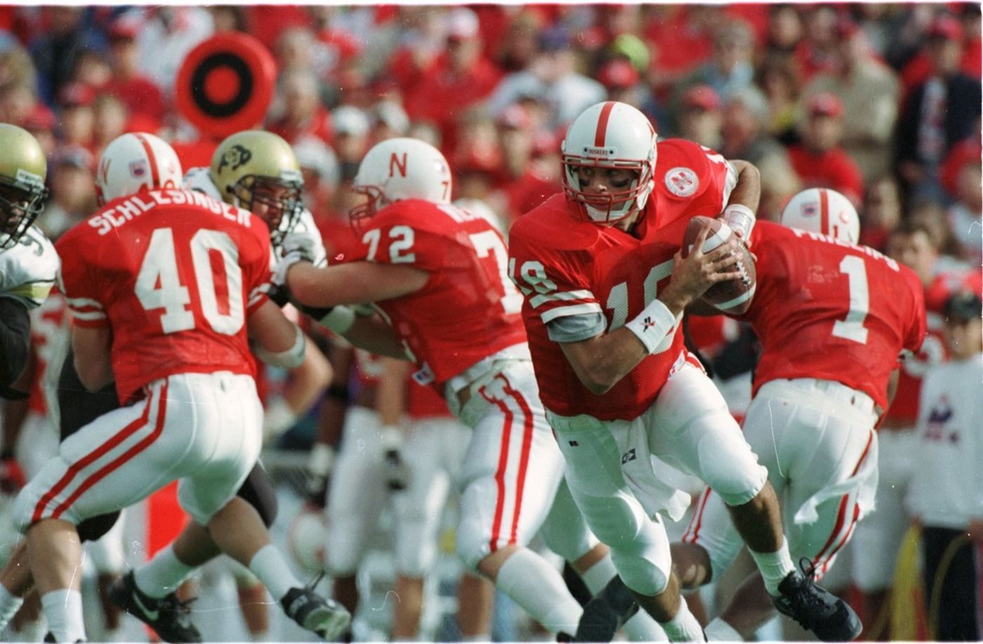 Nebraska quarterback Brook Berringer during the 1994 ...