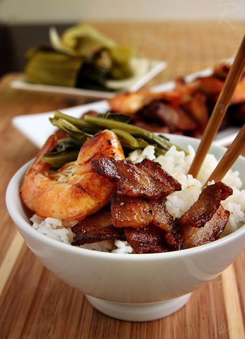 vietnamese caramelized pork belly and shrimp