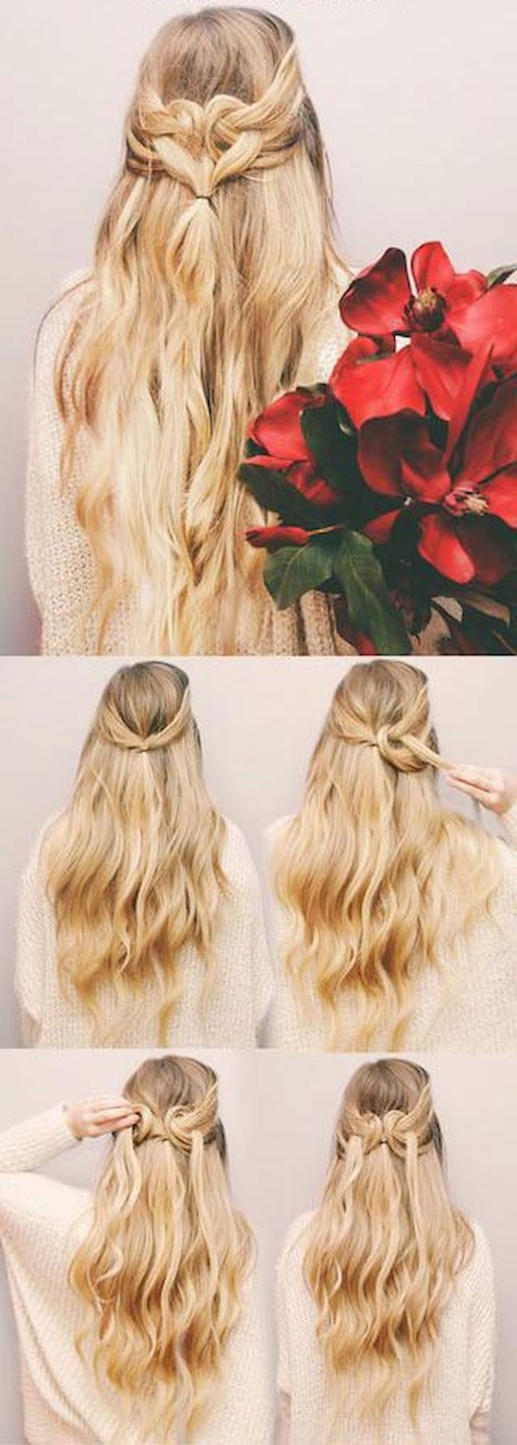 easy half up half down hairstyles for every occasion hair and