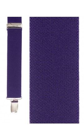 Plum Newport Suspenders