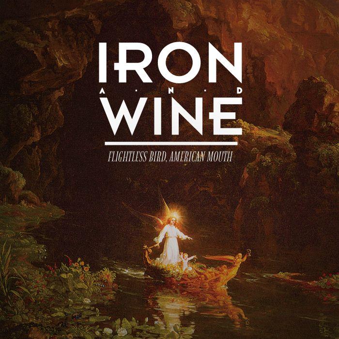 Alternative Album Cover For Iron And Wine Flightless Bird American