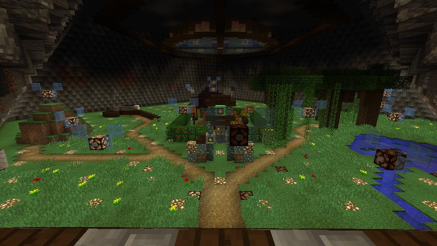 Fairy Garden   Fairy garden, Minecraft, Painting