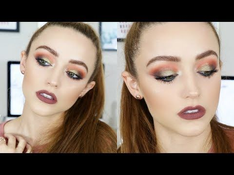 anastasia prism palette  makeup tutorial really easy to