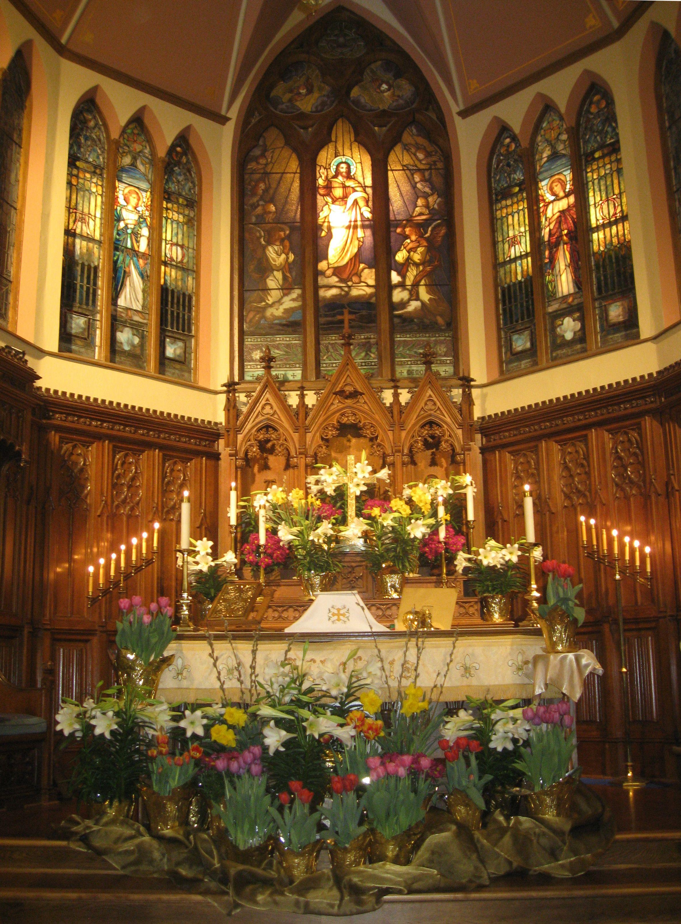 Easter Vigil Holy Saturday Christ Episcopal Delavan Wi