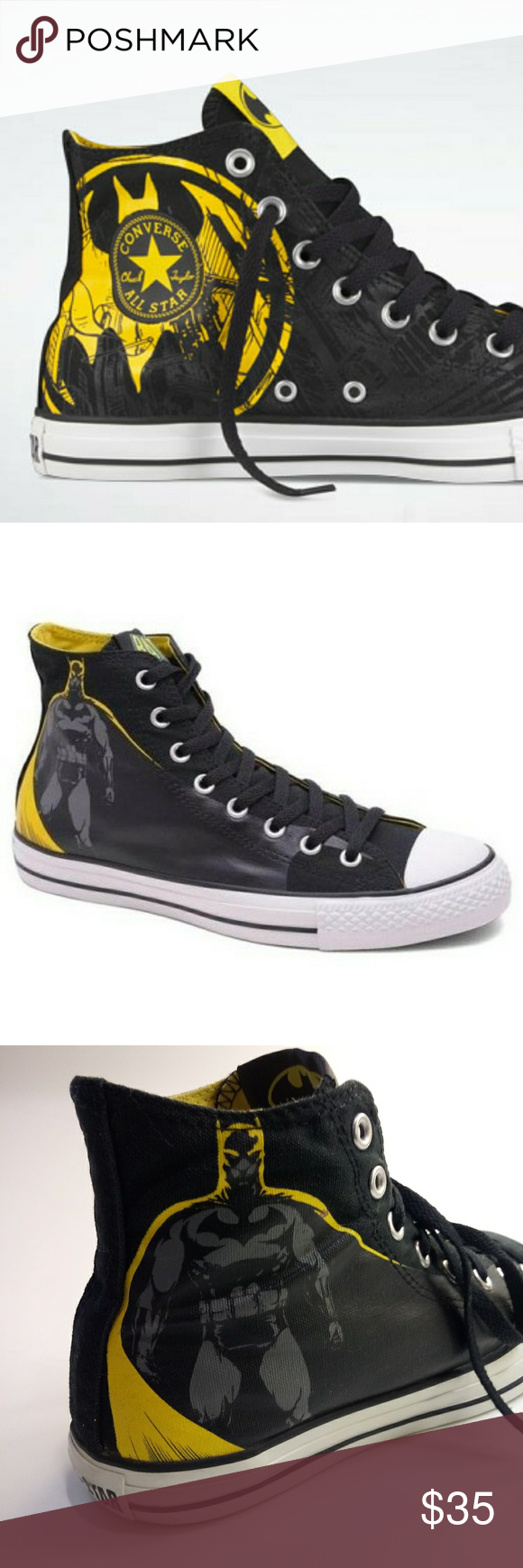 4906fb145f5e Converse DC Comics Batman Caped Crusader Sneakers Batman fans get much love  from Converse as well
