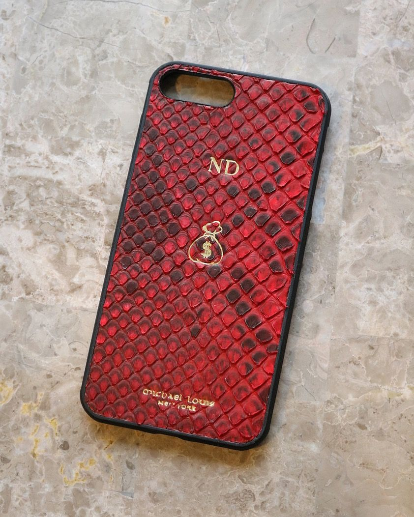 quality design 83ee2 0e3a3 Red Python Snakeskin iPhone 7 Plus / 8 Plus Case | - iPhone 7 / 8 ...
