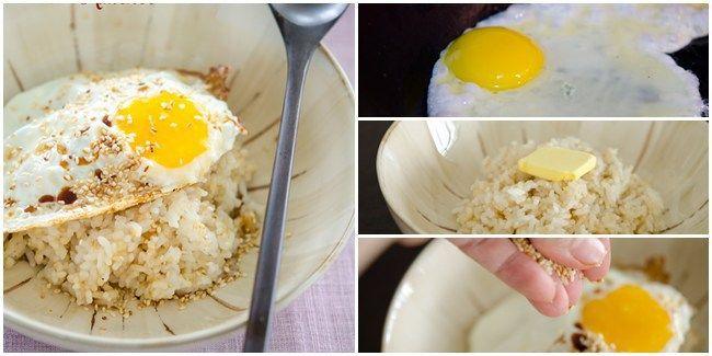 Vemale Com Resep Menu Sarapan Kilat Nasi Telur Ceplok Ala Korea Resep Makanan Enak Makanan