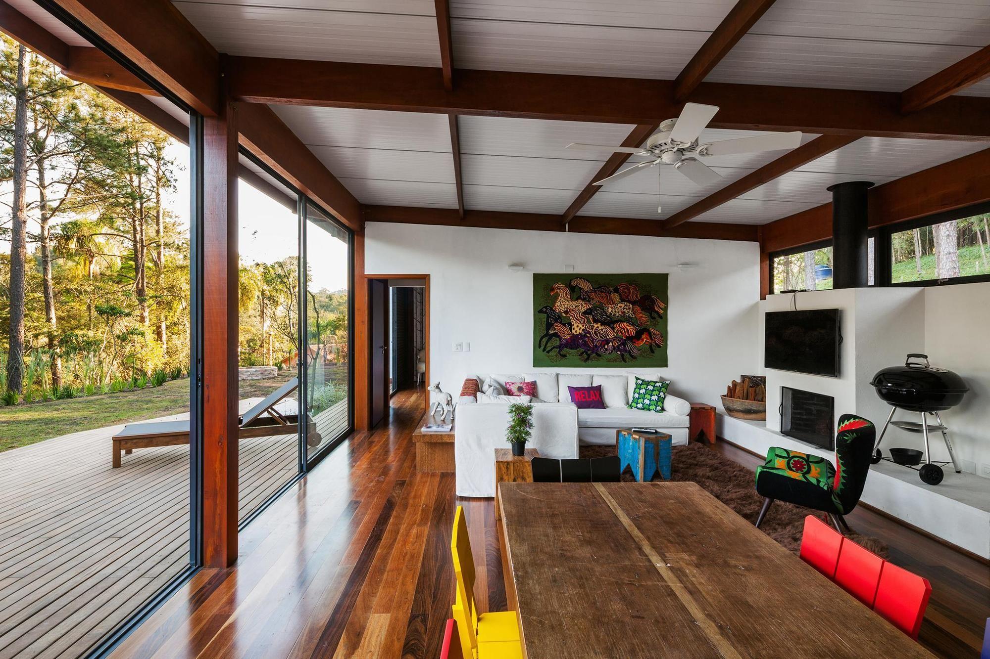 Diseño de casa pequeña moderna, fachada con modelo rectangular y ...