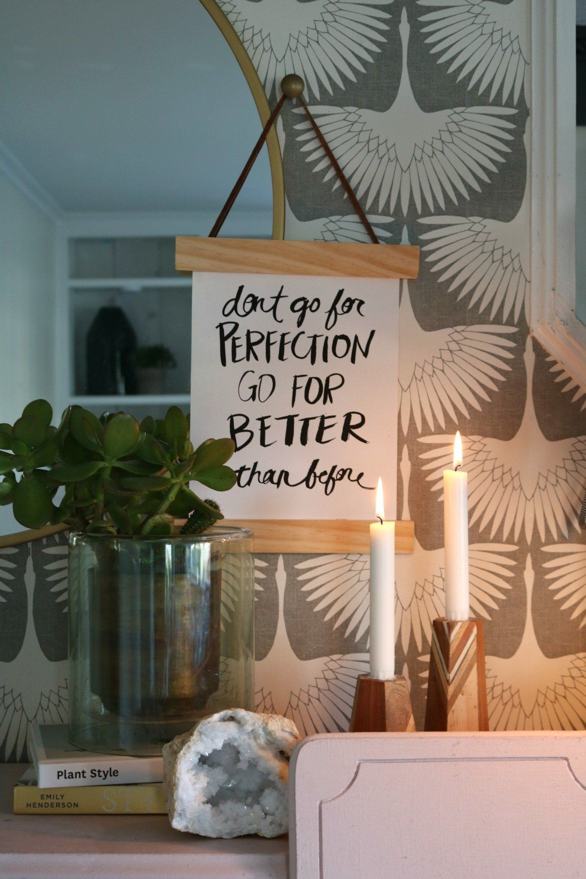 Diy 20 Cent Wall Hanging For Your Don T Go For Perfection Home