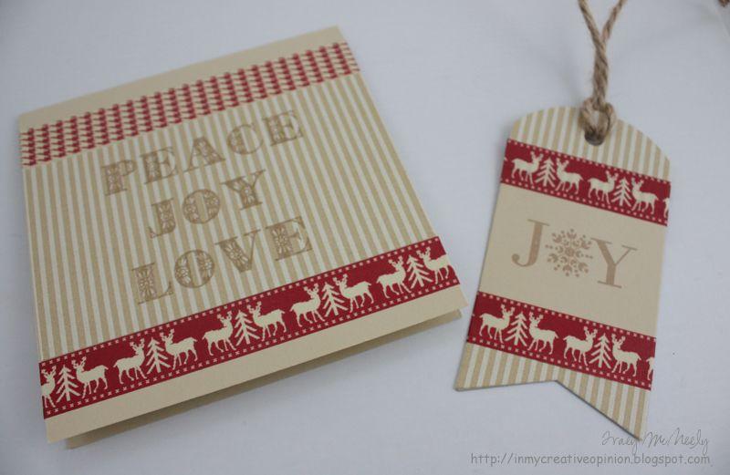 Christmas Card, Christmas Tag