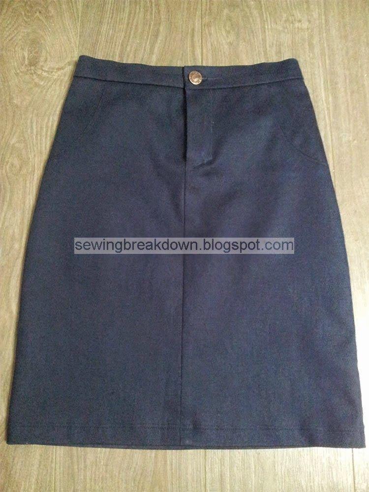 5fe60905f طريقة خياطة تنورة بالصور - خياطة و تفصيل | خياطة وتفصيل | Sewing ...