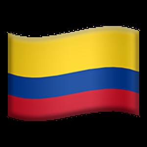 Flag Of Colombia Bandera De Colombia Bandera Colombia