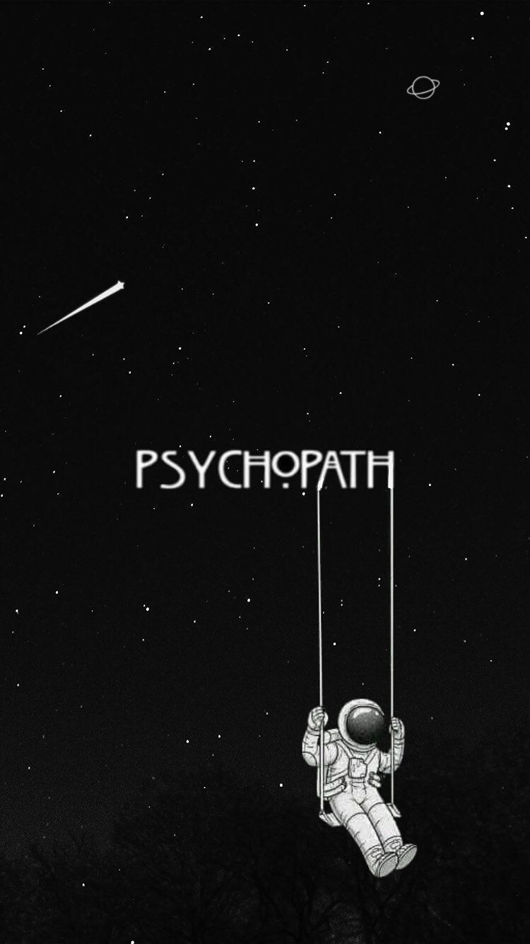 Black Psychopath Space Wallpaper Octoberwallpaperiphone Black Psychopath Space Wallpaper Psycho Wallpaper Dark Wallpaper Iphone Funny Phone Wallpaper