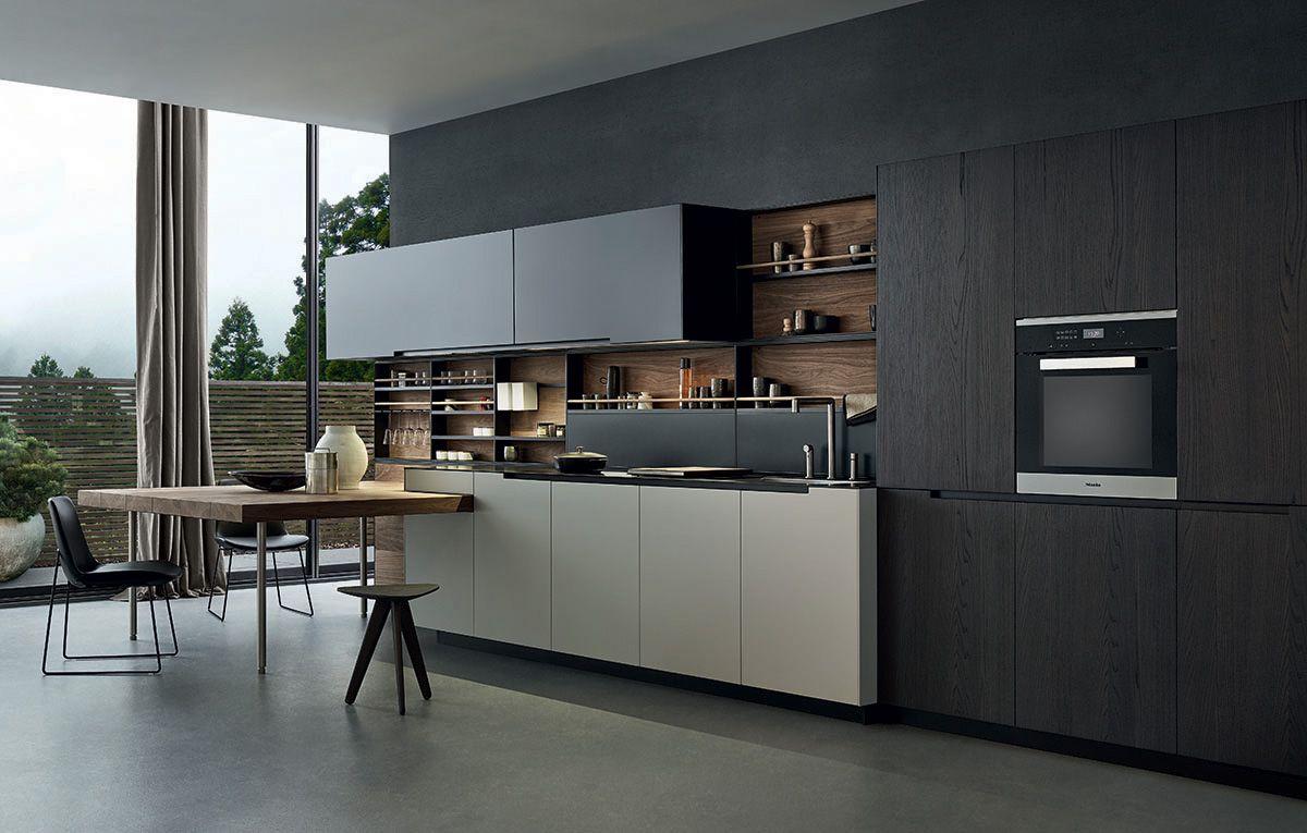 Phoenix Cr S Varenna 2014 An Exclusive Model Where All The Kitchen Units Are Inspired By Pure And Es Interni Della Cucina Arredo Interni Cucina Set Da Cucina