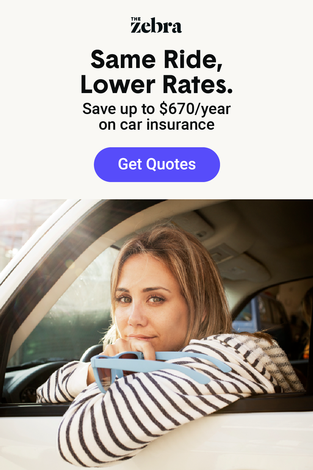 Customers Who Use The Zebra To Compare Auto Insurance Rates Save