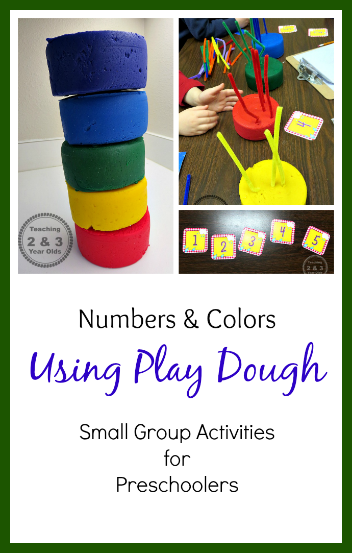 teaching young children how to count and recognize colors from teaching 2 and 3 year olds - Color Games For 2 Year Olds