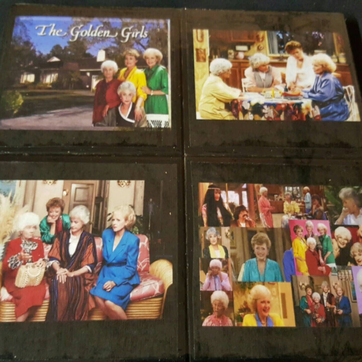 A new addition to our TV & Movie Series. The Golden Girls Drink Coaster Set.