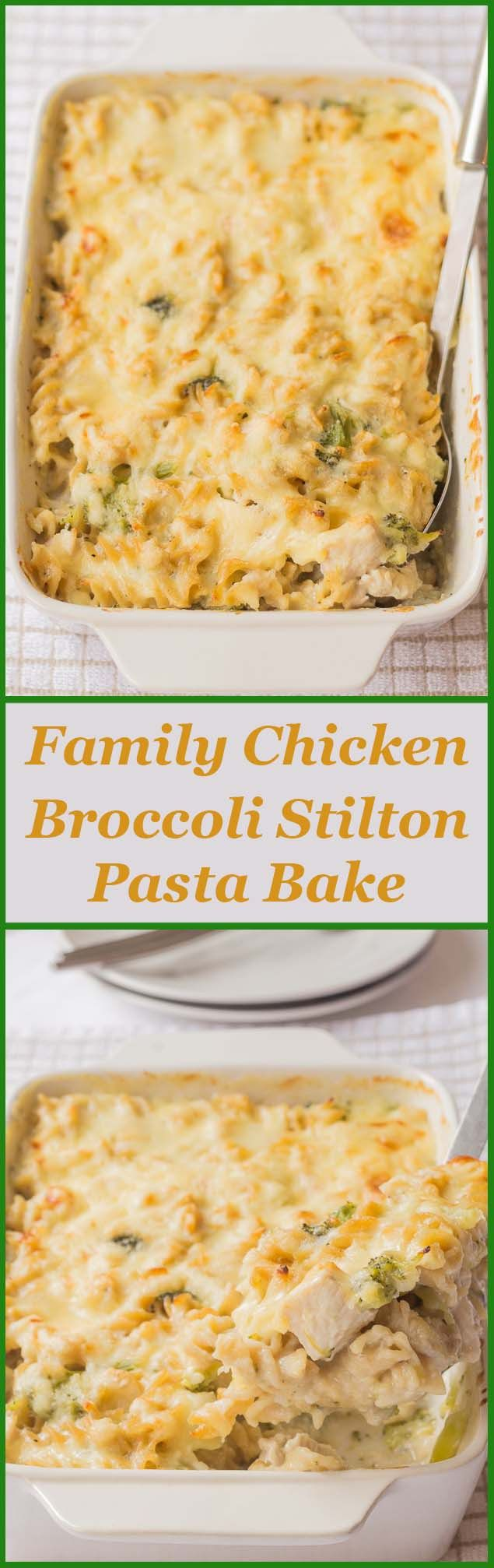Simple, healthy, low cost, quick and back to basics. It's what I'm all about with this delicious new family chicken broccoli Stilton pasta bake.
