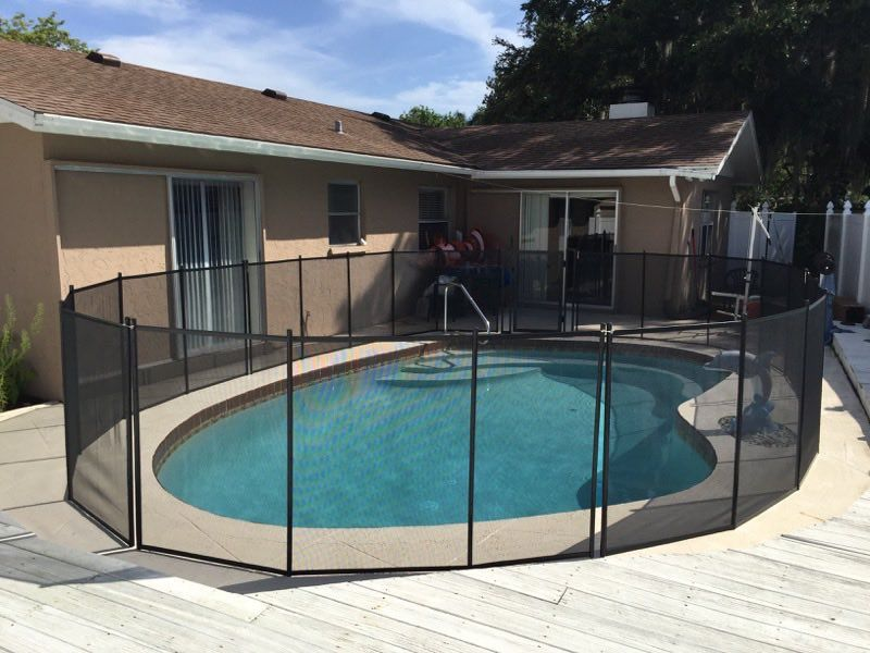 Lake helen pool fence baby barrier of volusia county
